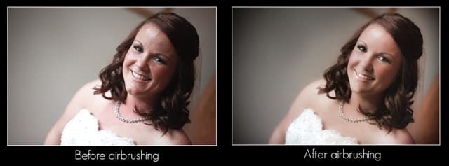 Example of the sort of airbrushing work we done on our images