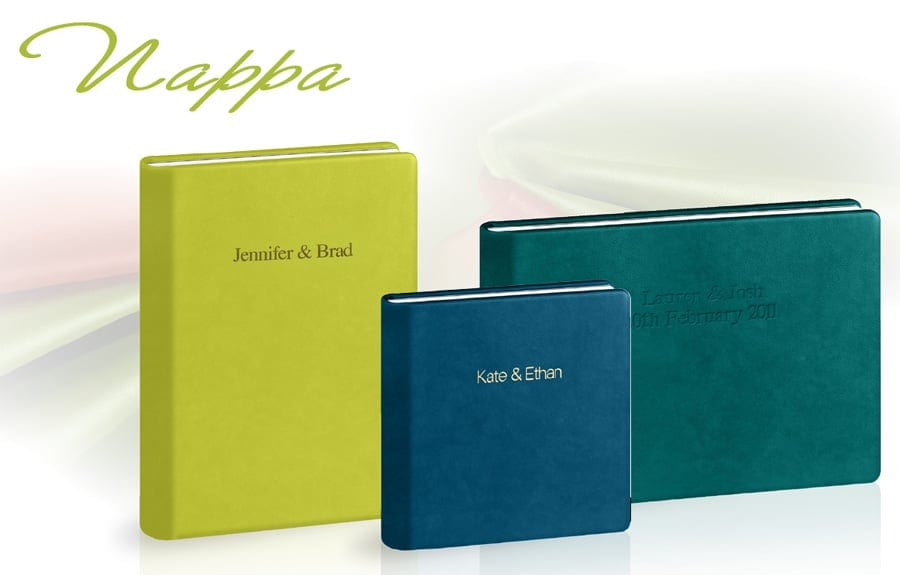 Graphistudio Nappa Leather Covers by 123 Photography, wedding photographer Leeds