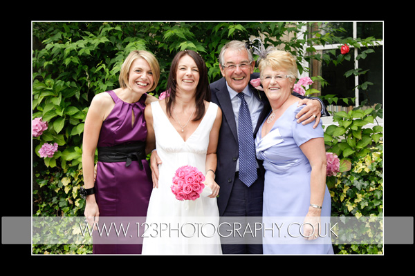 Rachel and Tony's wedding photography at Harrogate Registry Office, Harrogate