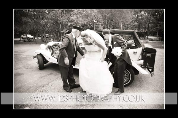 Naomi and Danny's wedding photography at Chevin Country Park Hotel, Otley