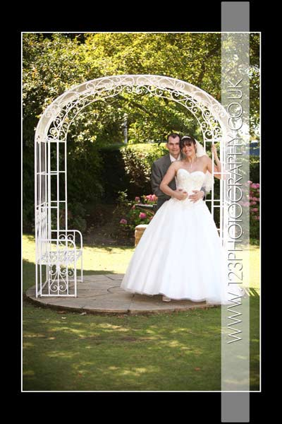 Lisa and Steve's wedding photography at King's Croft Hotel, Pontefract