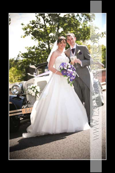 Lisa and Steve's wedding photography at St. Mary's Church, Horbury