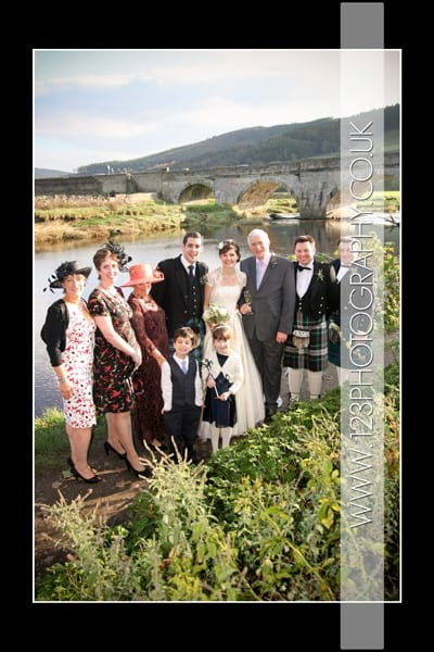 Anna and James's wedding photography at The Red Lion, Burnsall
