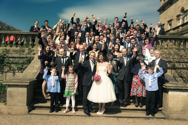 Josie and Lawrence's vintage weddings at Harewood House, Leeds, West Yorkshire