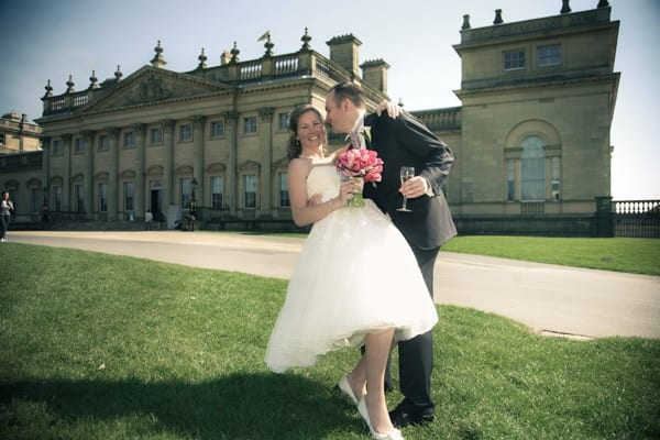 Josie and Lawrence's vintage wedding photography at Harewood House, Leeds, West Yorkshire