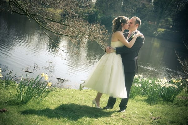 Josie and Lawrence's vintage wedding photographs Harewood House, Leeds, West Yorkshire