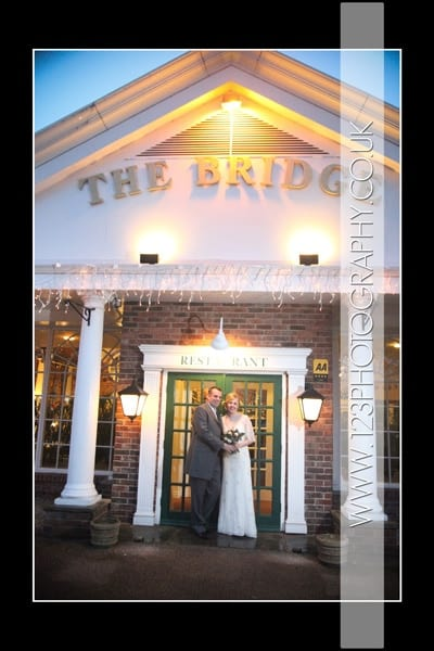 Jo and Matt's wedding photography at The Bridge Inn, Wetherby by 123 Photography - Wedding Photographers