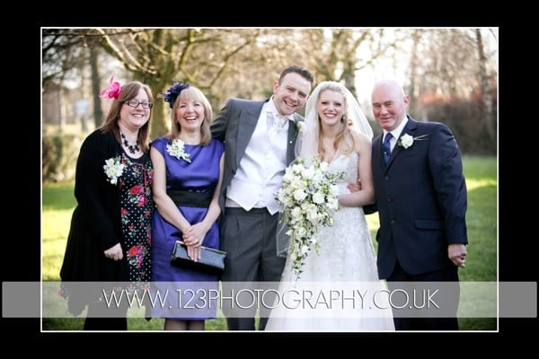 Carly and Adam's wedding photography at Cookridge Methodist Church, Leeds
