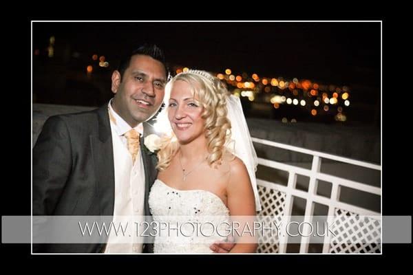 Maresa and Nav's wedding photography at The Queen's Hotel, Leeds