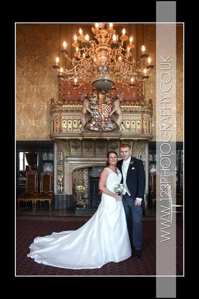 Sarah and James' Wedding Photography at Carlton Towers, Goole