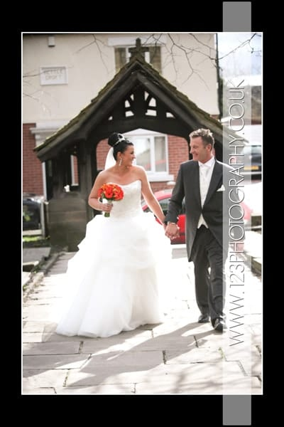Haile and Carl's wedding Photography at Pudsey Parish Church, Pudsey, Leeds