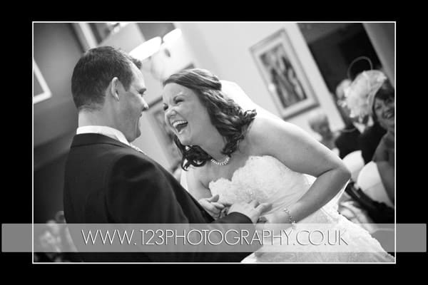Shelley and John's wedding photography at The Ramada Jarvis Parkway, Leeds