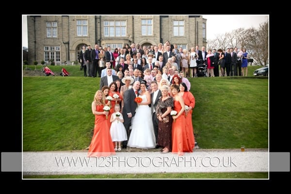 Haile and Carl's wedding Photography at The Woodlands Hotel, Gildersome, Leeds