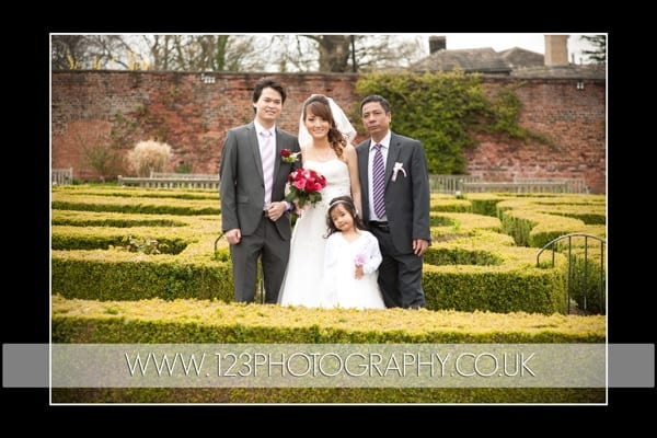 Vi and Ha's wedding photography at Roundhay Park, Leeds