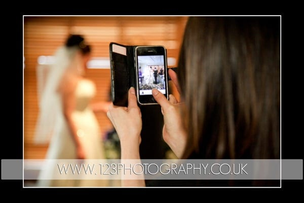 Irina and Michael's wedding photography at Thorpe Park Hotel and Spa Leeds