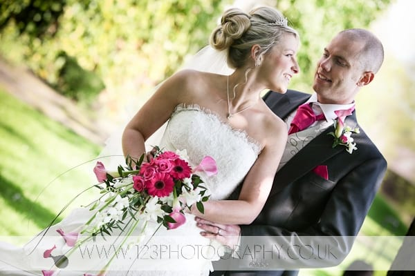Sarah and Oliver's Wedding Photography at The Holiday Inn, Tong, Bradford