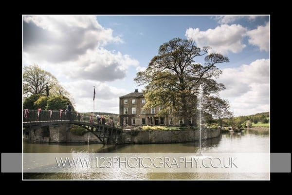 Vikki and Shaun's wedding photography at Waterton Park Hotel and Walton Hall, Wakefield