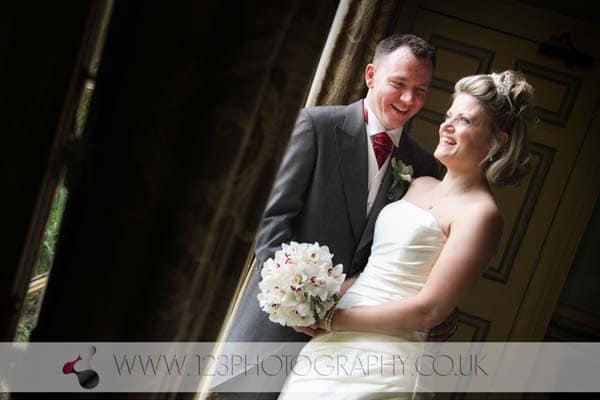 Lindsey and Tony's wedding photography at Swinton Park, Masham, Ripon, North Yorkshire