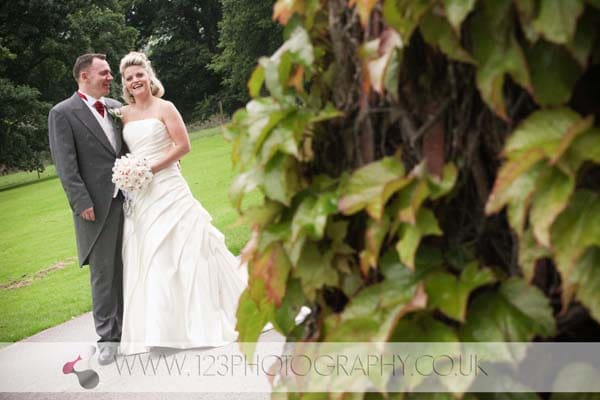 Lindsey and Tony's wedding photography at Swinton Park, Masham, Ripon, North Yorkshire