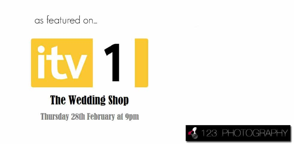 As featured on ITV's The Wedding Shop