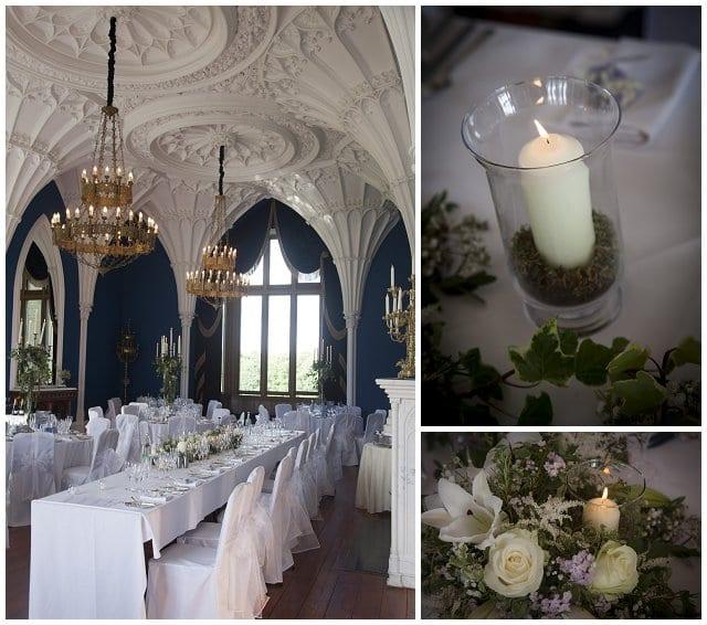 Allerton Castle wedding breakfast
