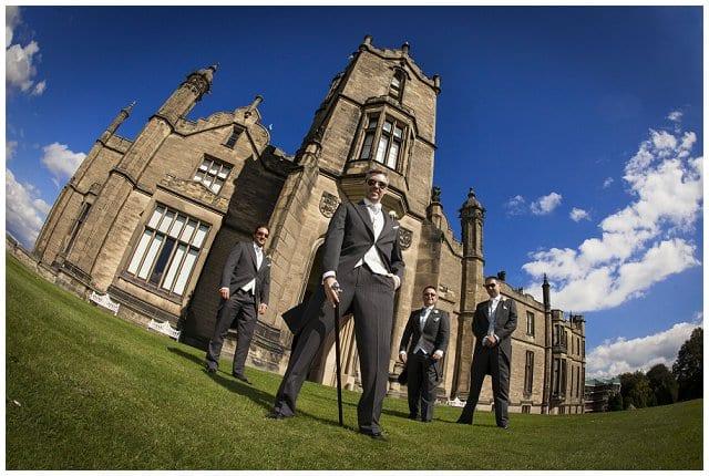 wedding photographer Allerton Castle