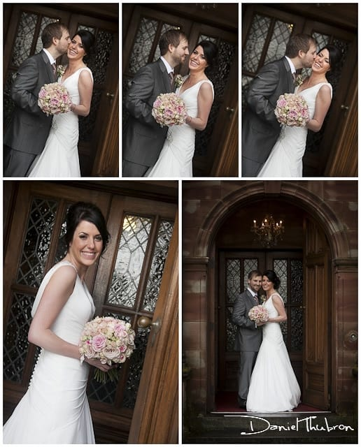 wedding photographers Wrenbury Hall Cheshire