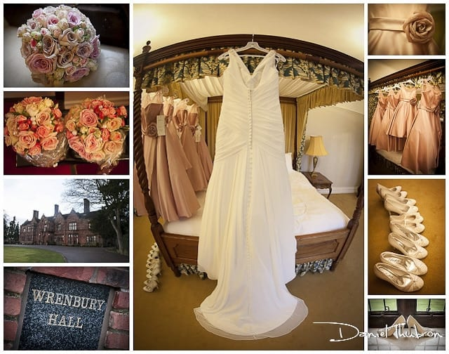 wedding photographer Wrenbury Hall Cheshire
