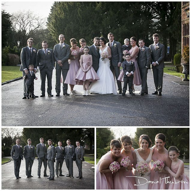 wedding photography Wrenbury Hall Cheshire