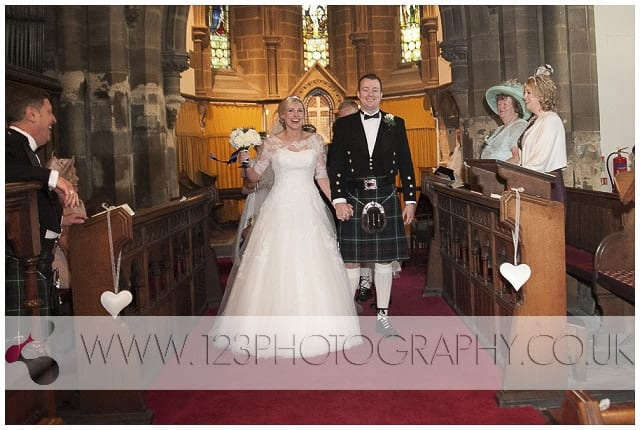 wedding Wentbridge Church