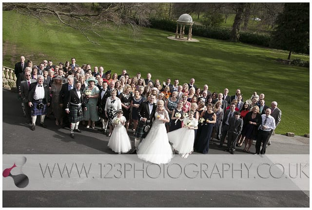 wedding photographers Wentbridge House