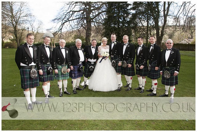 wedding photography Wentbridge House