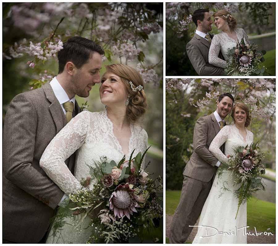 wedding photos East Riddlesden Hall