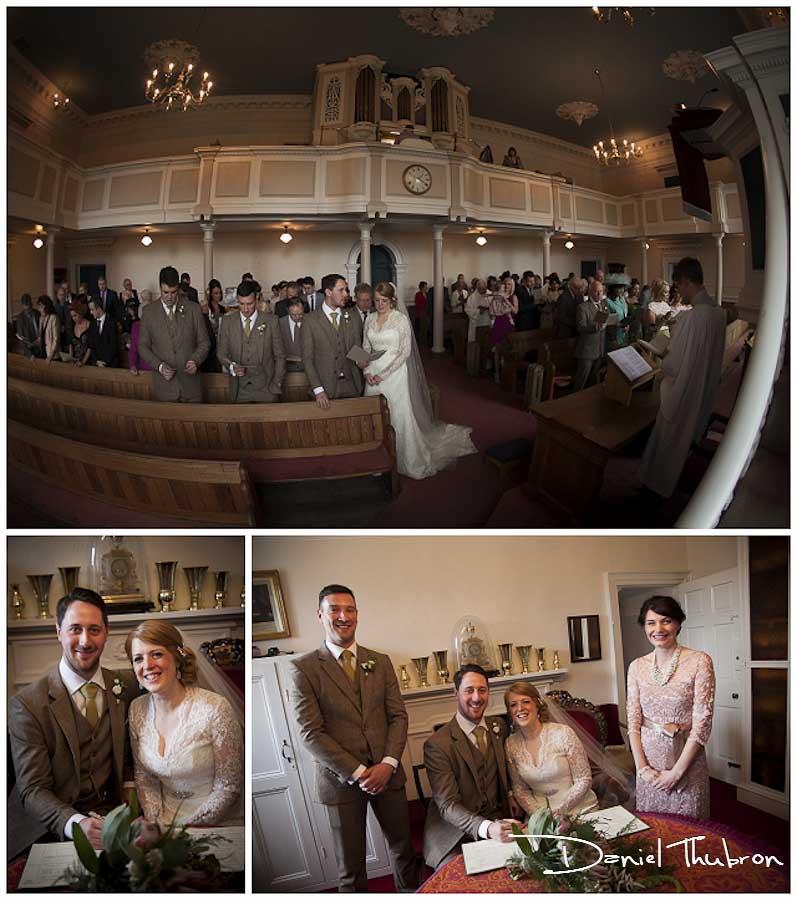 wedding photography Fulneck Moravian Church
