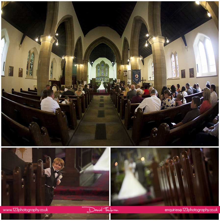 wedding St. Mary's Church Middleton Leeds