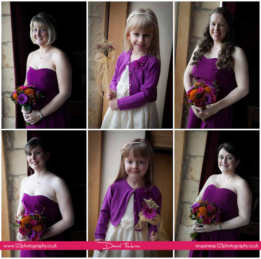 wedding photography The Hay Barn Gilling West