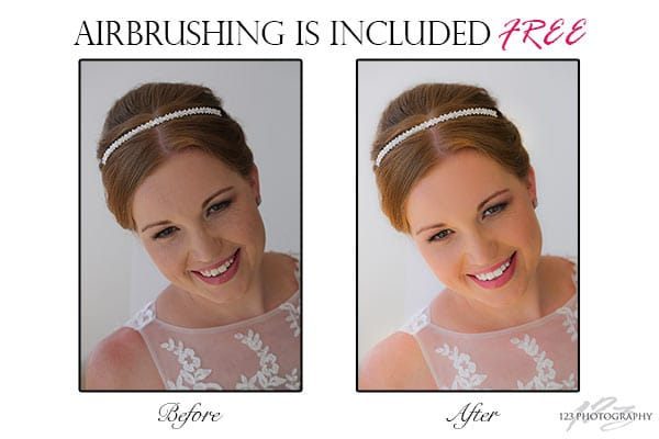 airbrushing wedding photography, airbrushed wedding photograph, photoshopped wedding photos, airbrushing, wedding, Leeds, photography, photographer