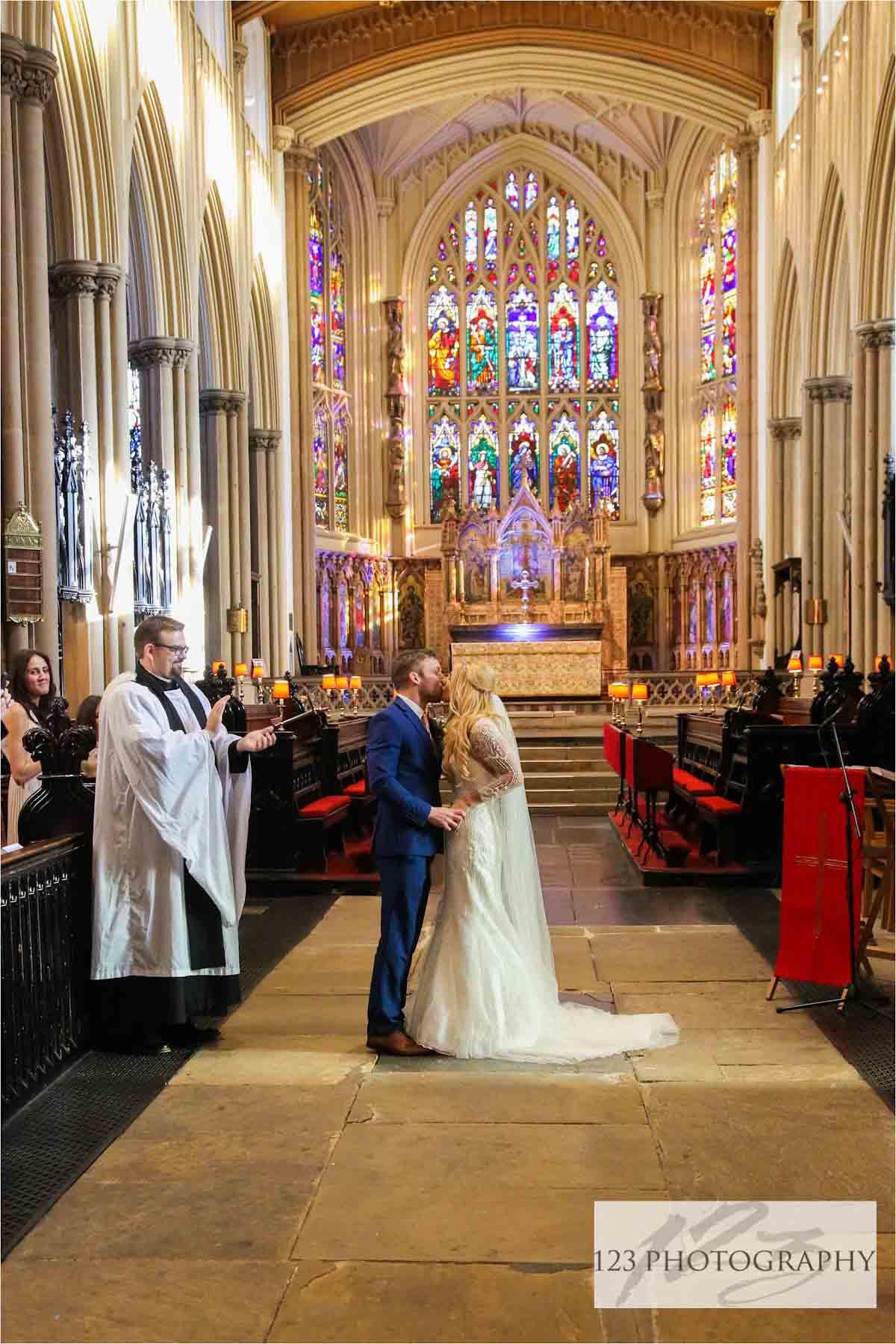 Leeds Minster wedding photographer