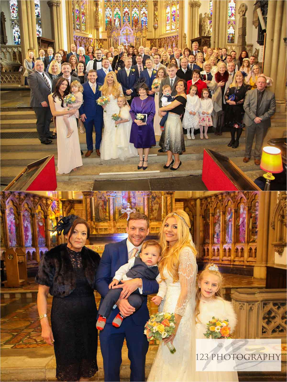 wedding photography Leeds Minster