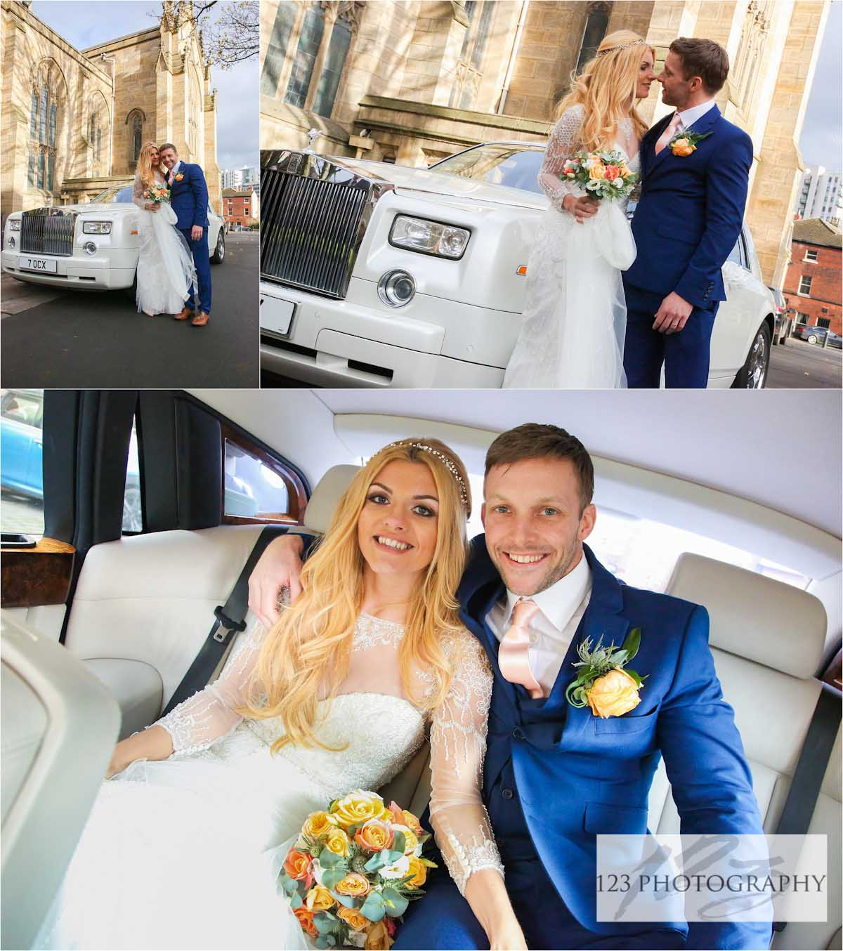 Leeds Minster wedding